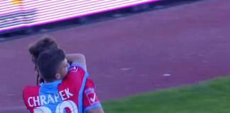 Michal Chrapek abbraccia Edgar Cani