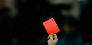 Espulsioni, cartellino rosso