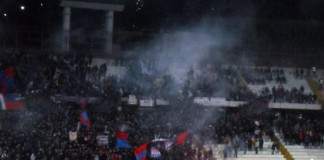 Tifosi Curva Nord Catania, stadio Angelo Massimino