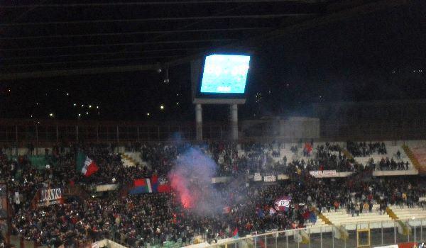 Curva Nord Catania, stadio Angelo Massimino