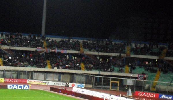 Curva Sud Catania, stadio Angelo Massimino