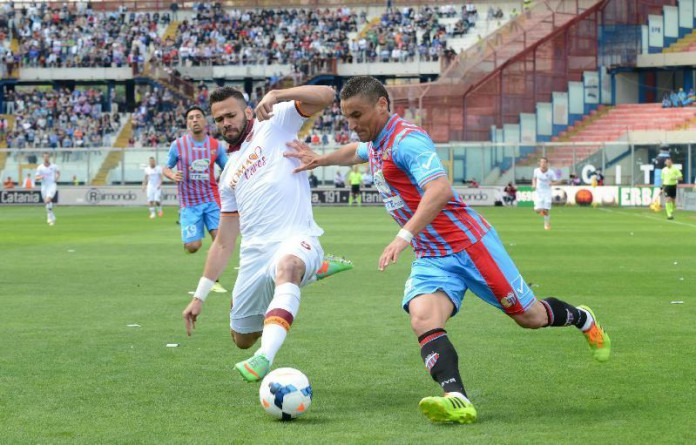 Catania e Roma avversario al Massimino nel 2014