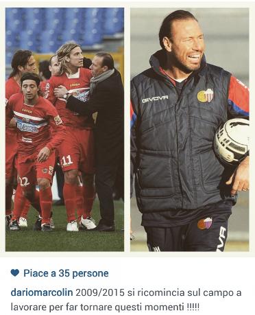 Dario Marcolin su Instagram
