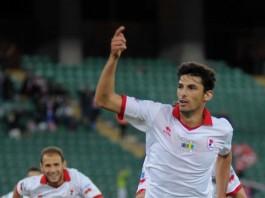 Daniele Sciaudone con la maglia del Bari
