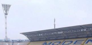Modena-Catania, condizioni campo Alberto Braglia