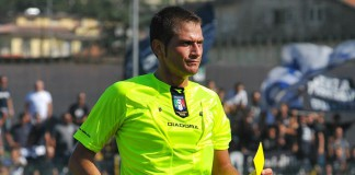 Arbitro Fabrizio Pasqua
