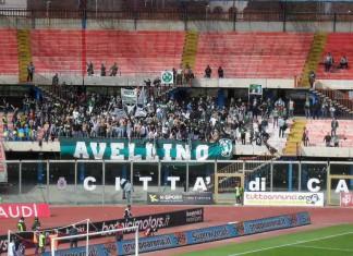 Tifosi Avellino a Catania