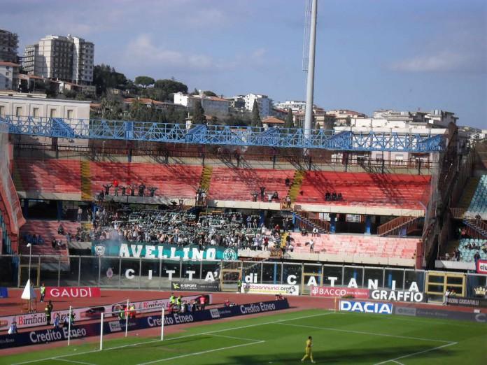 Avellino tifosi a Catania