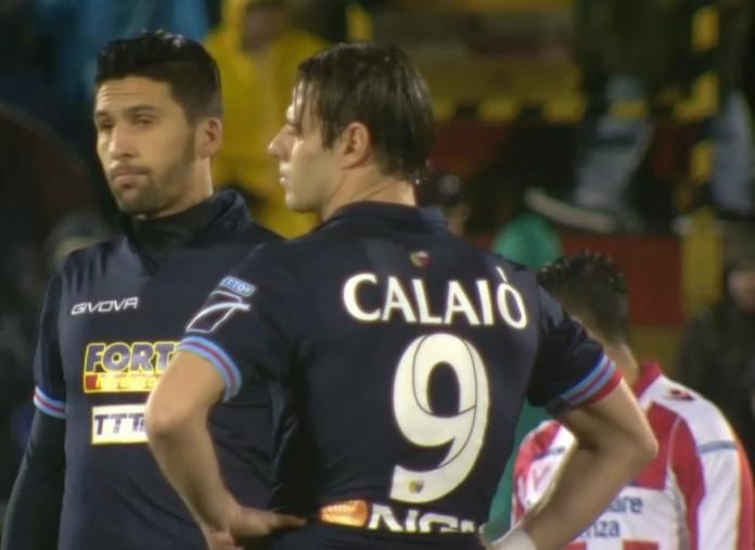 Emanuele Calaiò e Lucas Castro, Catania