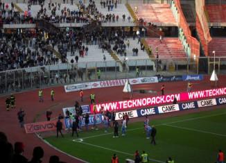 Curva Nord Catania, contestazione