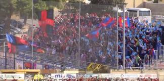 Tifosi Catania e Trapani
