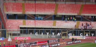 Catania vs Cittadella, applausi