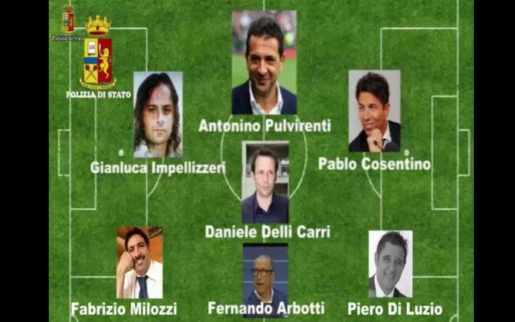 I treni del gol, caso Catania