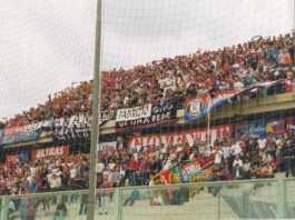 Tifosi Catania a Taranto