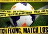 Federbet, match fixing