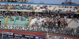 Catania vs Ischia, Curva Sud