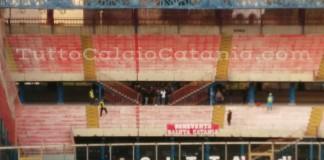 Striscione tifosi Benevento