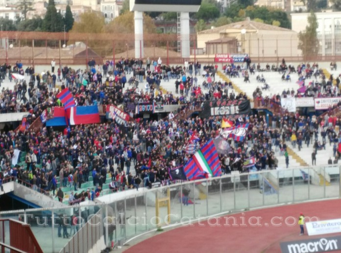 Curva Nord, Catania vs Benevento