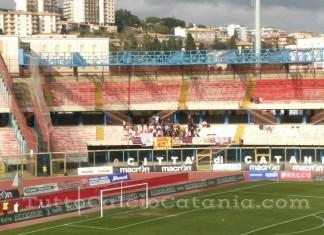 Catania vs Casertana, Settore Ospiti