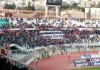 Catania vs Casertana, striscione Smeraldina