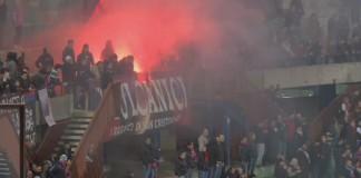 Catania vs Lecce, Curva Nord