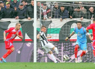 Juventus vs Catania, Giaccherini
