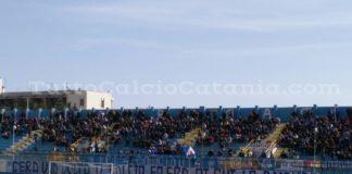 Akragas vs Catania, tifosi di casa