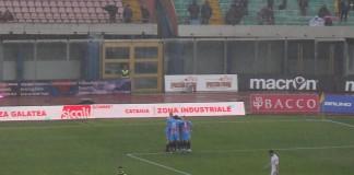 Catania vs Juve Stabia, Bombagi festeggiato