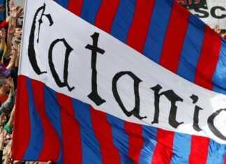 Bandiera Calcio Catania