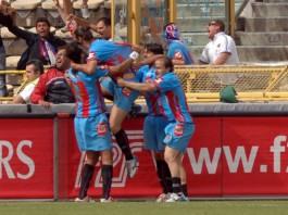 Catania - Chievo a Bologna