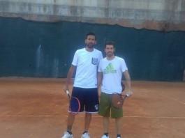 Mariano Izco e Nicolas Spolli