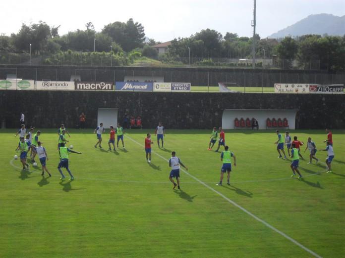 Allenamenti Catania ritiro