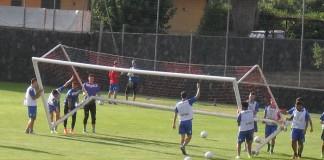 Catania allenamento a Torre del Grifo