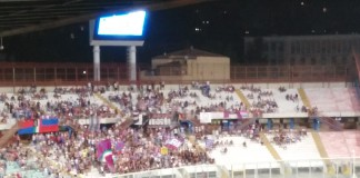 Catania vs Akragas, Curva Nord