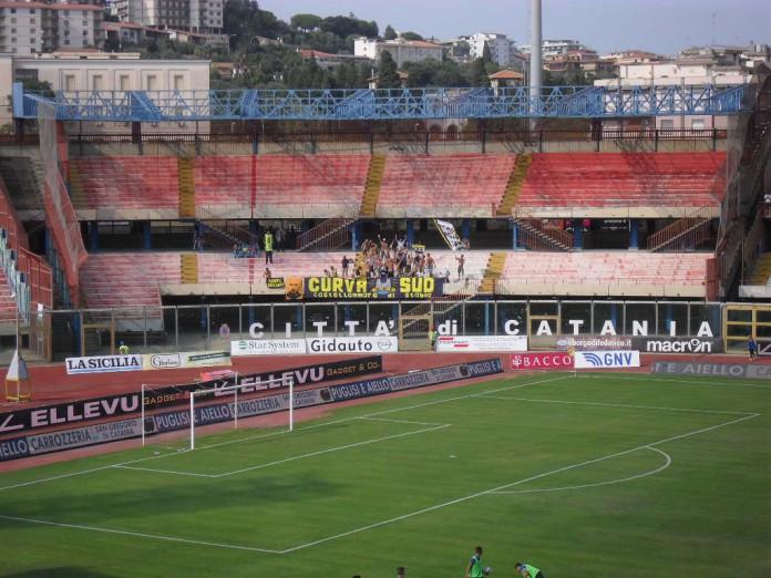 Juve Stabia, tifosi a Catania