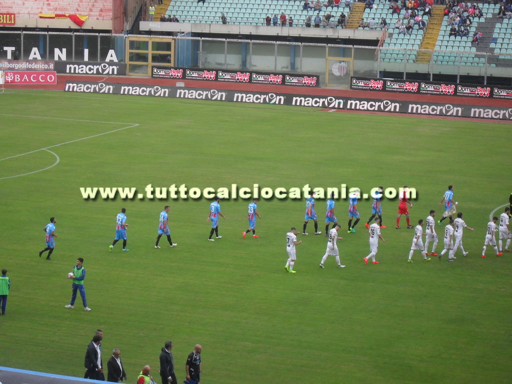 Gol Catania-Catanzaro 3-1: Video Highlights e Sintesi (Lega Pro 2016-17)