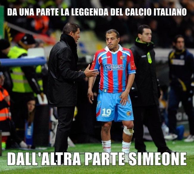 Adrian Ricchiuti e Diego Simeone