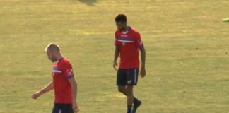 Davis Curiale e Gladestony Da Silva