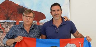 Pietro Lo Monaco e Cristiano Lucarelli