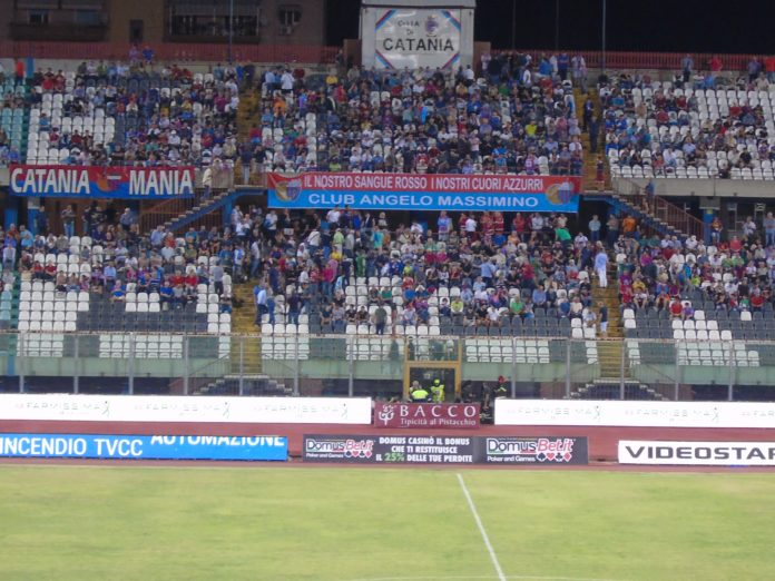Tribuna B Stadio Angelo Massimino Catania