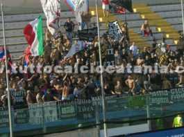 Tifosi del Catania a Brindisi