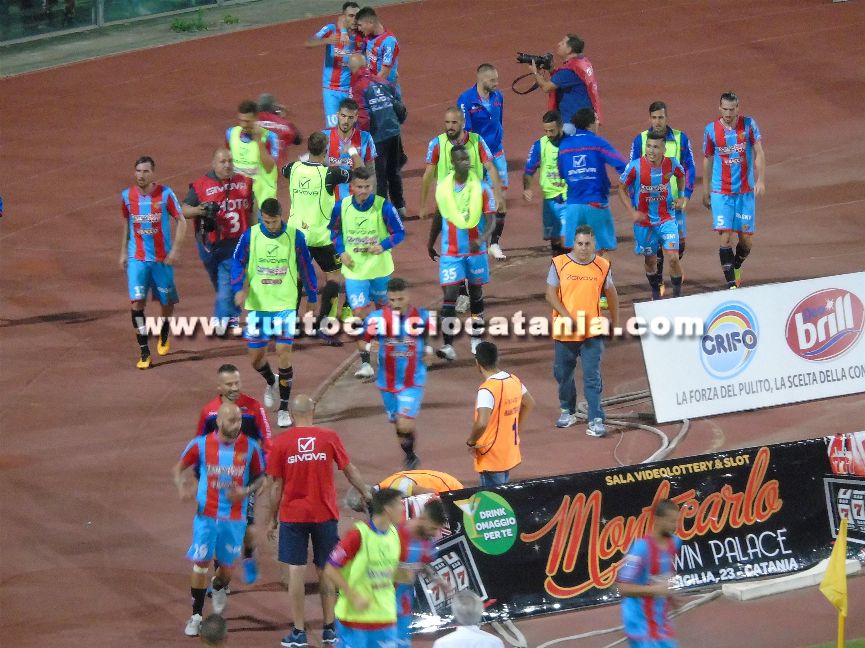 Catania-Fidelis Andria 1-0: Lodi regala la terza vittoria di fila agli etnei