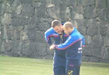 Cristiano Lucarelli ed Alberto Bartali