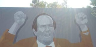 Angelo Massimino murale