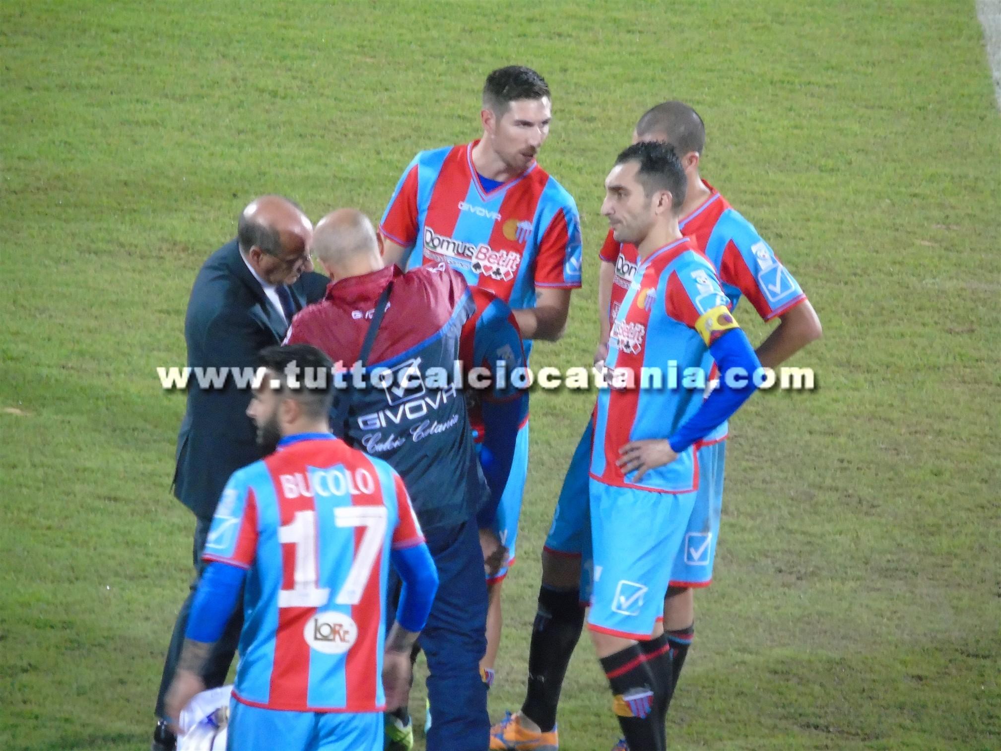 Derby al Catania: al