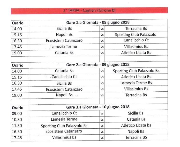 Calendario Lega Pro Girone B Orari.Beach Soccer Serie A Il Calendario Delle Squadre Siciliane