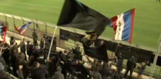 Catania tifosi a Fondi