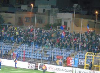 Trapani Catania tifosi ospiti