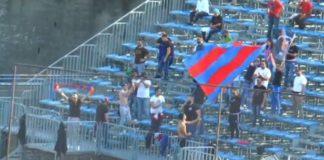 Catania tifosi a Pagani