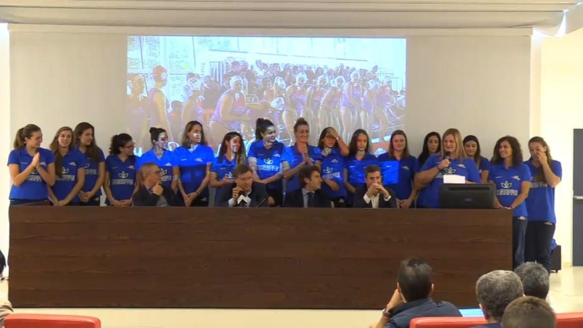 Ecogruppo Torre Del Grifo Presentata La Squadra In Sala Congressi